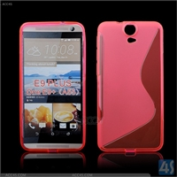 S Type TPU Soft Case for HTC E9 Plus/A55