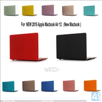 Plastic Hard Case for Apple Macbook Air 12