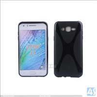 X Type TPU Soft Case for Samsung J7 J700