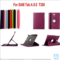 Rotating Leather Case for Samsung Galaxy Tab A T350