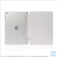 Three Folding Leather Case for iPad 2/3/4