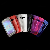 S Type TPU Soft Case for Samsung Galaxy Xcover 3/G388F