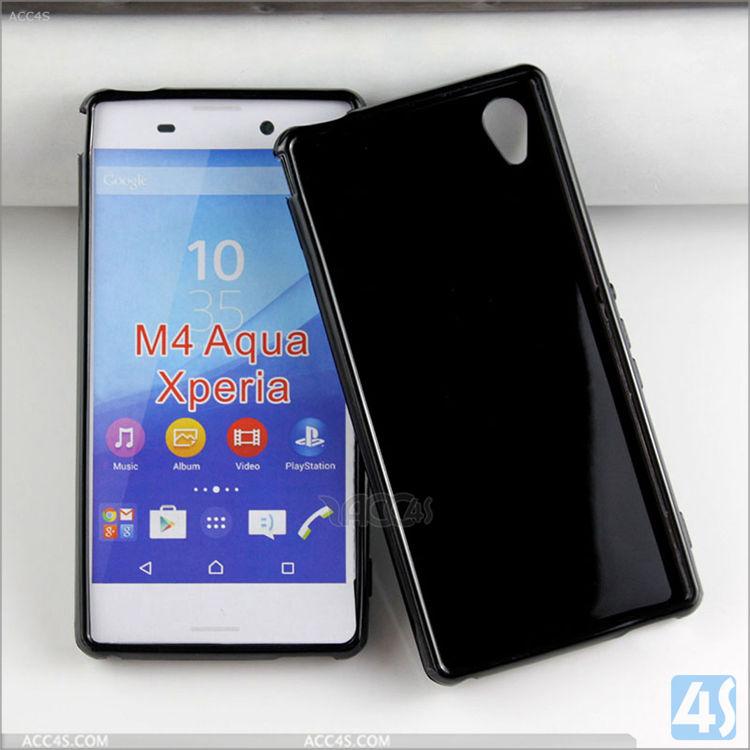 timeless design 44814 e3be8 TPU Soft Case for Sony Xperia M4 Aqua