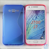 S Type TPU Soft Case for Samsung J7/J700