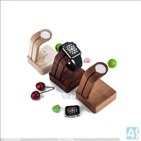 Wood Charger Base for Apple Watch
