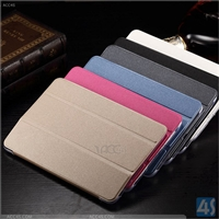 Three Folding Leather Case for Samsung Galaxy Tab A 9.7 T555