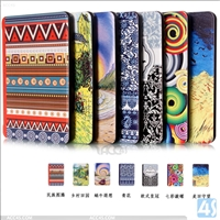 Customized pattern desgin PU leather case for kindle touch 2014