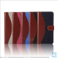 PU Leather Wallet Case for Samsung A8