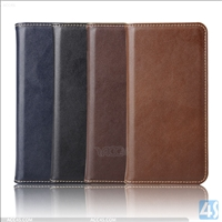 Genuine Leather Wallet Case for Samsung A8