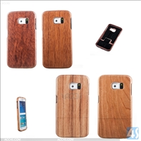 bamboo Walnut Maple Cherry Rosewood hard case for samsung galaxy s6 edge