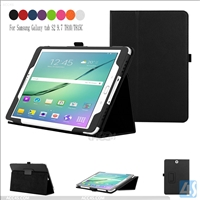 Back stand PU leather case for SAMSUNG  Galaxy TAB S2 9.7inch SM-T810/815
