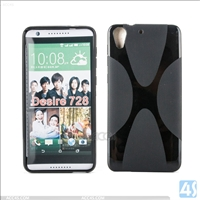 X Type TPU Case for HTC Desire 728