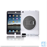 360 Rotation Anti Shock Kick Stand Case for iPad 4 3 2