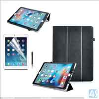PU Leather Tri Fold Stand Case for iPad Pro