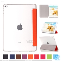 Clear PC Back Case Smart Front Cover for Apple iPad Pro 12.9