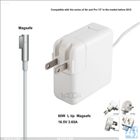 Genuine Original 60W 16.5V 3.65A L tip laptop power adapter ac/dc power charger for Macbook pro for macbook notebook