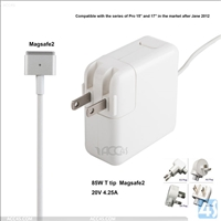 85W 20V4.25A for Macbook Pro Magsafe2 Power Adapter Charger A1424