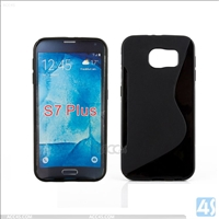 S Line TPU Case Cover for Samsung S7 Plus