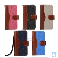 Wallet PU Leather Case for Apple iPhone SE/ 5/ 5S