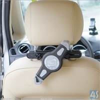 Headrest Mount Car Seat Back Holder Travel Kit for Phones