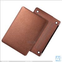 Double Side PU Leather PC Case for APPLE MacBook Pro 15