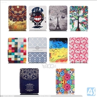 Printed Tri Fold PU Leather Case for AMAZON Kindle Oasis