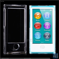 Front and Back Crystal Case Cover for Apple iPod Nano 7/ 8