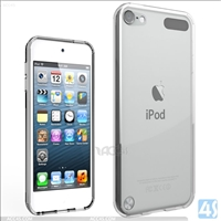 Acrylic Gummy Clear Case for iPod Touch 6