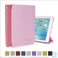 PU Leather Star Pattern Tri Fold Case for APPLE iPad Pro 9.7