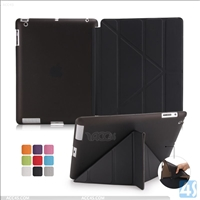 PU Leather Transform Stand Case for APPLE iPad 4/3/2