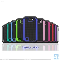 3 in 1 Combo Hybride Case for LG K3