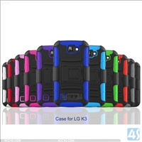 3 in 1 Combo Holster Clip Case for LG  K3