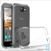 Acrylic Gummy Clear Case for LG  K3