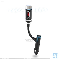 F33 Hand-free Bluetooth Transmitter Car Charger