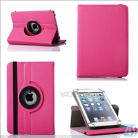 PU Leather Universal 360 Rotation Case for 7-8inch tablets