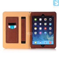 Card Slot Slim PU Leather Case for APPLE iPad Air 2