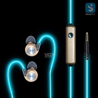 Lighting Earphone with 3.5mm Jack Port