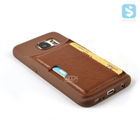 With Card Slot PU Leather TPU Case for SAMSUNG Galaxy S7 /G930