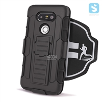 Silicon PC Sporty Armband Case for LG G5