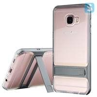 Clear Back Cover Kickstand Case for SAMSUNG C5