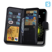 Crazy Horse PU Leather Wallet Case for LG G5 with 9 Card Slots
