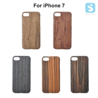 Extra Slim Hard Wood Case for Apple iPhone 7