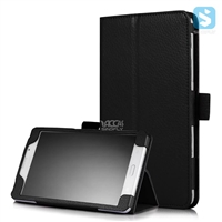 Litchi PU Leather Stand Case for SAMSUNG Galaxy Tab J7.0 T285DY
