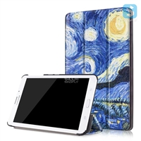 Printed PU Leather Case for SAMSUNG Galaxy Tab J7.0 T285DY