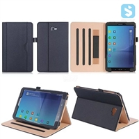Tan Stand PU Leather Case for SAMSUNG Galaxy Tab A 10.1 T580