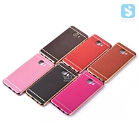 Electroplating Litchi Pattern Case for Samsung C7