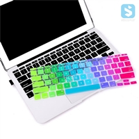 Rainbow Keyboard Cover for Macbook