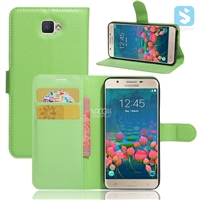 Litchi PU Leather Wallet Case for SAMSUNG J5 J500