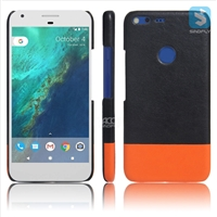 Contrast Color PU Leather Back Case for GOOGLE Pixel XL(5.5)(2016)
