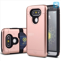 TPU+Plastic Shockproof Rugged Case with Hidden Card Slot for LG G5